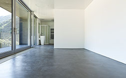Polished concrete floor services including grinding, polishing, sealing, 'cut and seal' and trip hazard removal