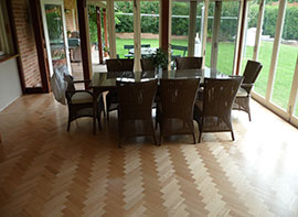 Timber parquetry