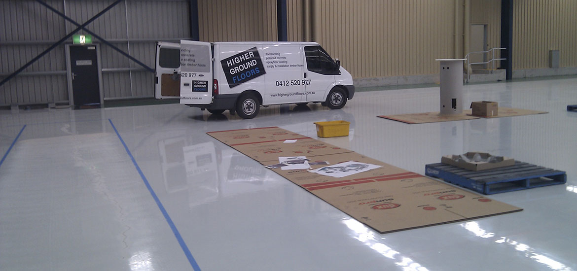 Epoxy Floor Coatings, Superior Adhesion & Durability