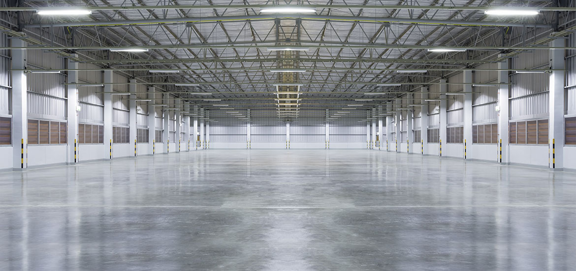 Industrial Warehouses, Processing Plants & Factories